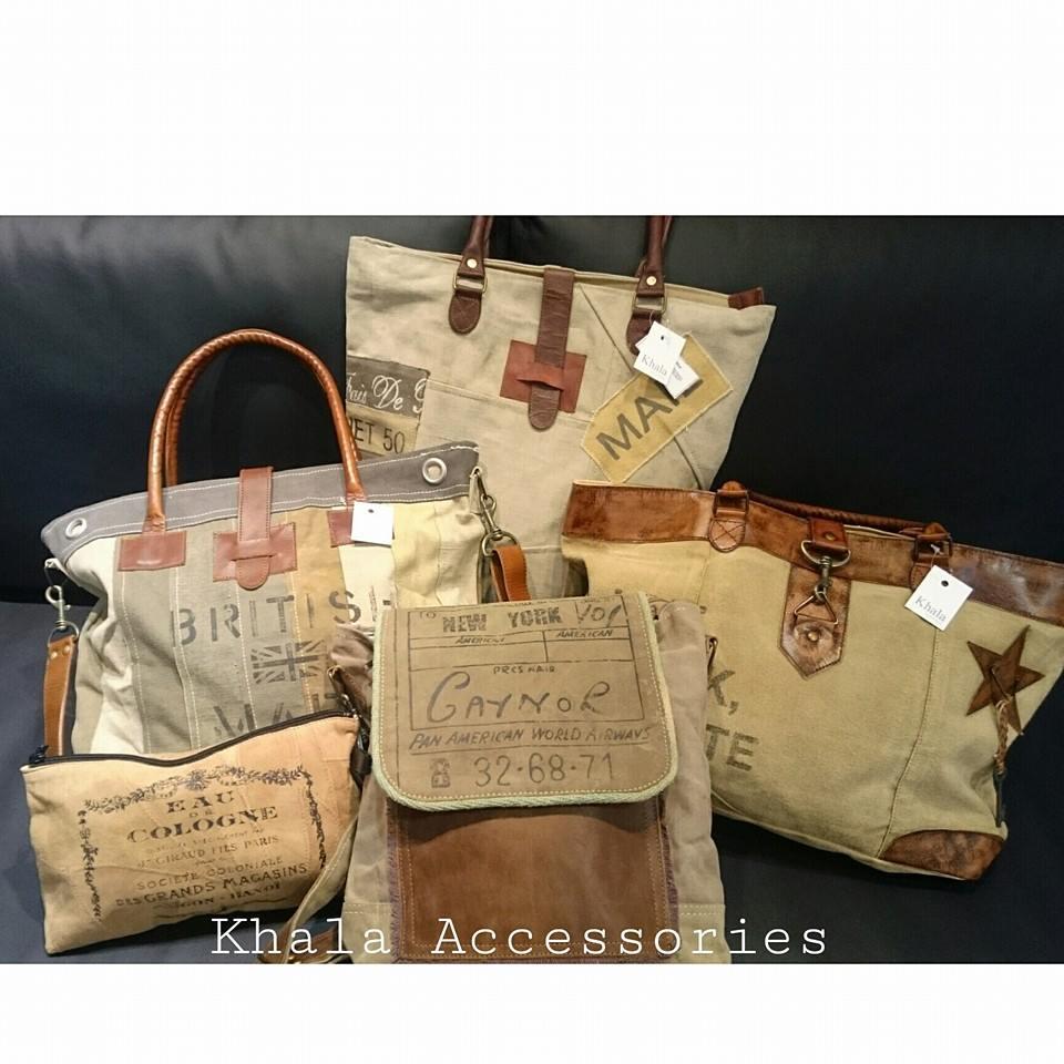 bolso de tela vintage